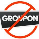 No Groupon